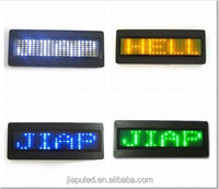 multifunction LED Name Badge Can Display Varied color and Symbol Easily Edit and Operating