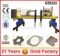Fast delivery sheet aluminum gantry plasma cutter , plasma cutting machine china for sale