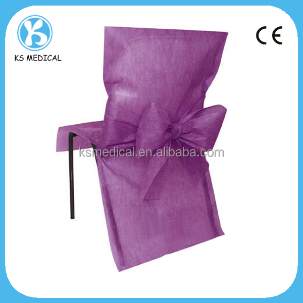 Hot Sale Popular Wedding Used Banquet Chair Cover Disposable Folding Chair Co