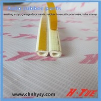 high quality eco friendly door seal strip with RUBBER foam rubber