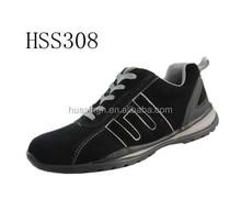 LB,shock resistant breathable suede leather hiking safety sport shoes UK market popular