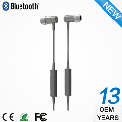 Plastic headphones in ear invisible wireless earphone for iphone 5