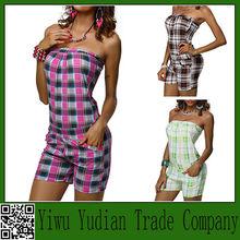 Fashion Women's Spandex Jumpsuit Custom Printing One Piece Jumpsuit
