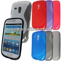 S Line Soft TPU Gel Case for Samsung Galaxy S3 SIII Mini i8190 Case