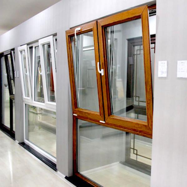Powder Coated Windows : Mm tempered glass powder coated aluminium tilt and turn