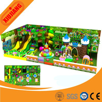 Daycare Center CE Standard Indoor Playground Equipment European