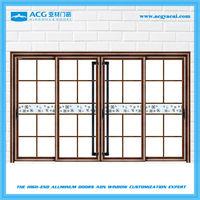 Good quality trade assurance aluminum large house glass door