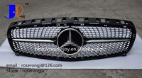 AUTO SPARE PARTS CAR GRILLE FOR B ENZ W176 A260 FULL STAR GRILLE