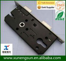 Stainless Steel Mortise 7040 Lock Body zinc cilinder lock body 7040