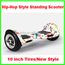 10inch self balancing scooter 2 wheels big tires two wheels self balacing scooter