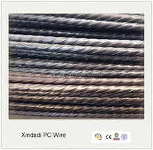 building material stress relieved steel wire, pc wire