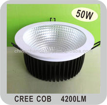 Guangzhou chinachance new Cree led downlight 50w high power 4200lm residential downlights