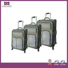luggage big lots 1680D Material Travel trolley fabric for chaps luggage