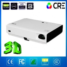 CRE X3000 Native 1080P full hd 3d laser projector,Mini projector mobile phone build with android