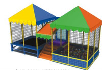 lovely durable outdoor portable trampoline pad for rent