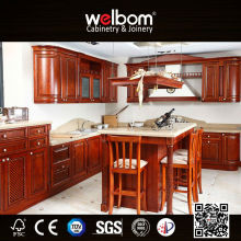 [ Welbom ]Hot Sale Luxury Rosewood Kitchen Cabinet