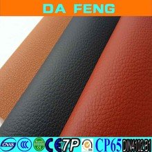 Textile Raw PVC leather for car seat material,car decoration leather