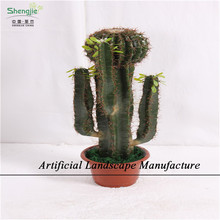 SJZC04 High imitated artificial cactus for decoration,shengjie artificial green plants