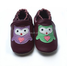 happy baby leather shoes,soft and comfortable baby shoes