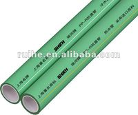 small diameter hot water supply green PPR pipe