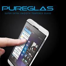High clear 9h hardness screen protector ,mobile phone accessories,for blackberry z10 screen cover with pureglas brand