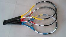 Customed the bumper and grommet for tennis racket , carbon fiber tennis nylon net racquet.