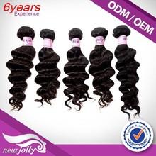 Deep wave/wavy/loose wave straight styles brazilian virgin human hair weaving hair , none chemical aliexpress virgin hair
