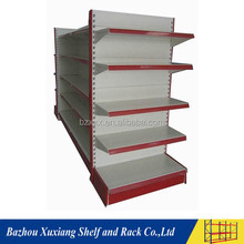 Factory direct sale power coating fruit and vegetable display grocery shelves