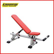 Adjustable bench fitness and body building