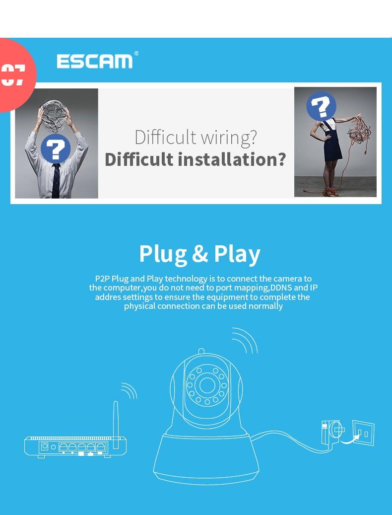 Wireless Outdoor Security System Cctv Cameras Pnp Cam Ip Camera Full ...