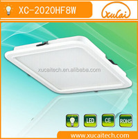 8W china supplier hot selling under cabinet led panel ceiling light