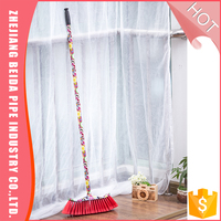 Wholesale quality-assured low price plastic cheaning broom and dustpan