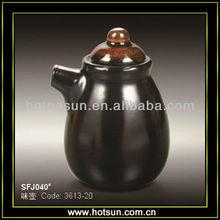 Serving japanese stoneware sauce cruet SFJ040