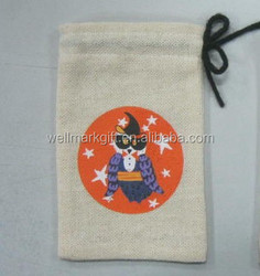 Hot sales Jute drawstring Gift bag Pouch