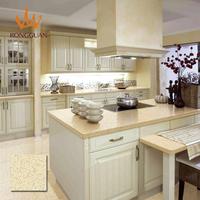 modern bar counter prefab Homes quartz stone