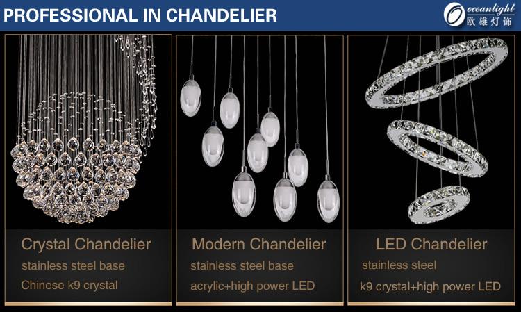 Ajustável led globo de cristal pingente de luz, foscarini bubble luminária om88516-800