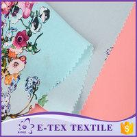 China Suppliers Latest design Waterproof Chiffon lady shirt dress fabric