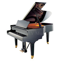 Grand Piano Type and Solid Wood Keyboard Material Japanese grand piano