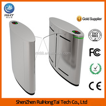 Ruihongtai Optical Flap Barrier Turnstile Access Control System