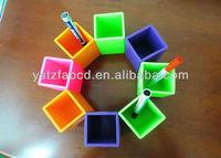 100% Food grade silicone tubular penrack,promotional gifts