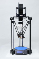 Delta Rostock mini 3D Printer DIY Kits Print PLA filament