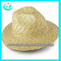 drinking straw hat