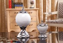 Modern designs cosmetic jar storage candy/cream for interior decor