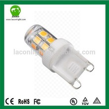 2015 New design with factory cost price g9 led light bulb 15w