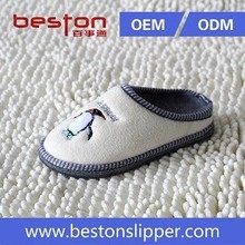 Embroidery Cute Nude Boys Beach Slipper / Kids Slippers / Customize Slippers