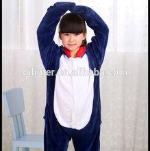 el más barato de promoción 2014 animales de invierno los niños trajes de ropa de dormir