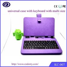 Tableta de 7 pulgadas teclado de la PC / caja, caja de la PC de la tableta de 8 pulgadas con el teclado, caja del teclado de 7