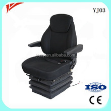 Luxury comfortable pneumatic suspension crane operator seat for sale