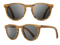 Custom Handcrafted Wooden Sunglasses With ebony wood and exotic wood for sale