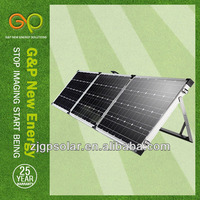 GP 3 folding solar panel 180W for campine use solar module and solar power